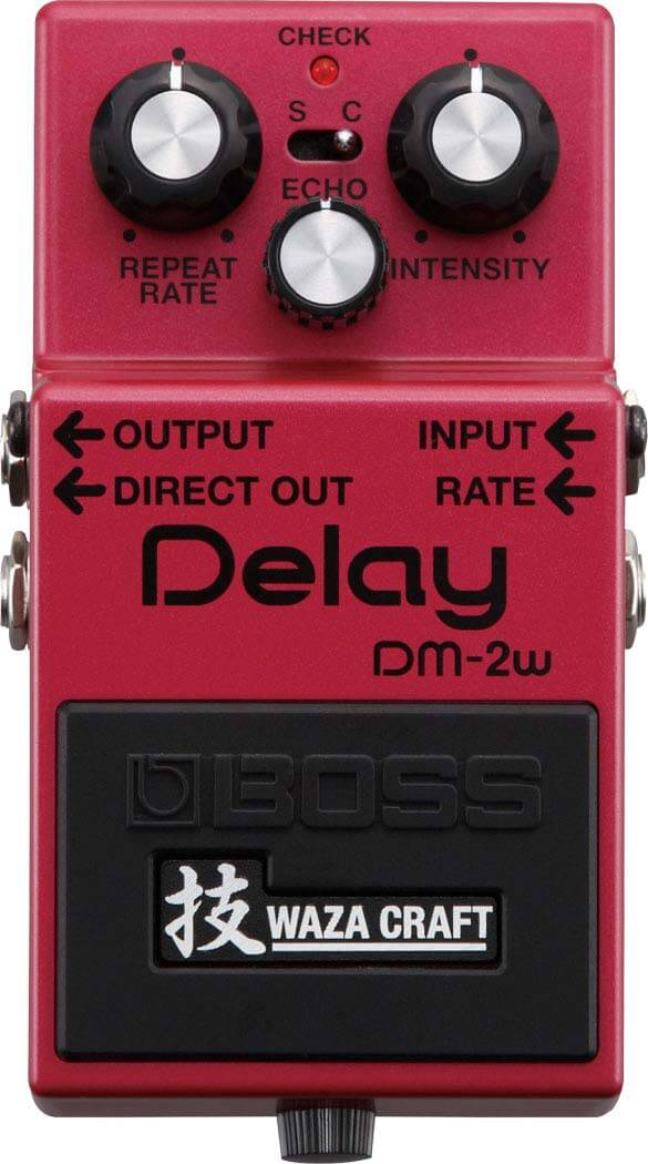 Boss DM-2W Delay guitarpedal