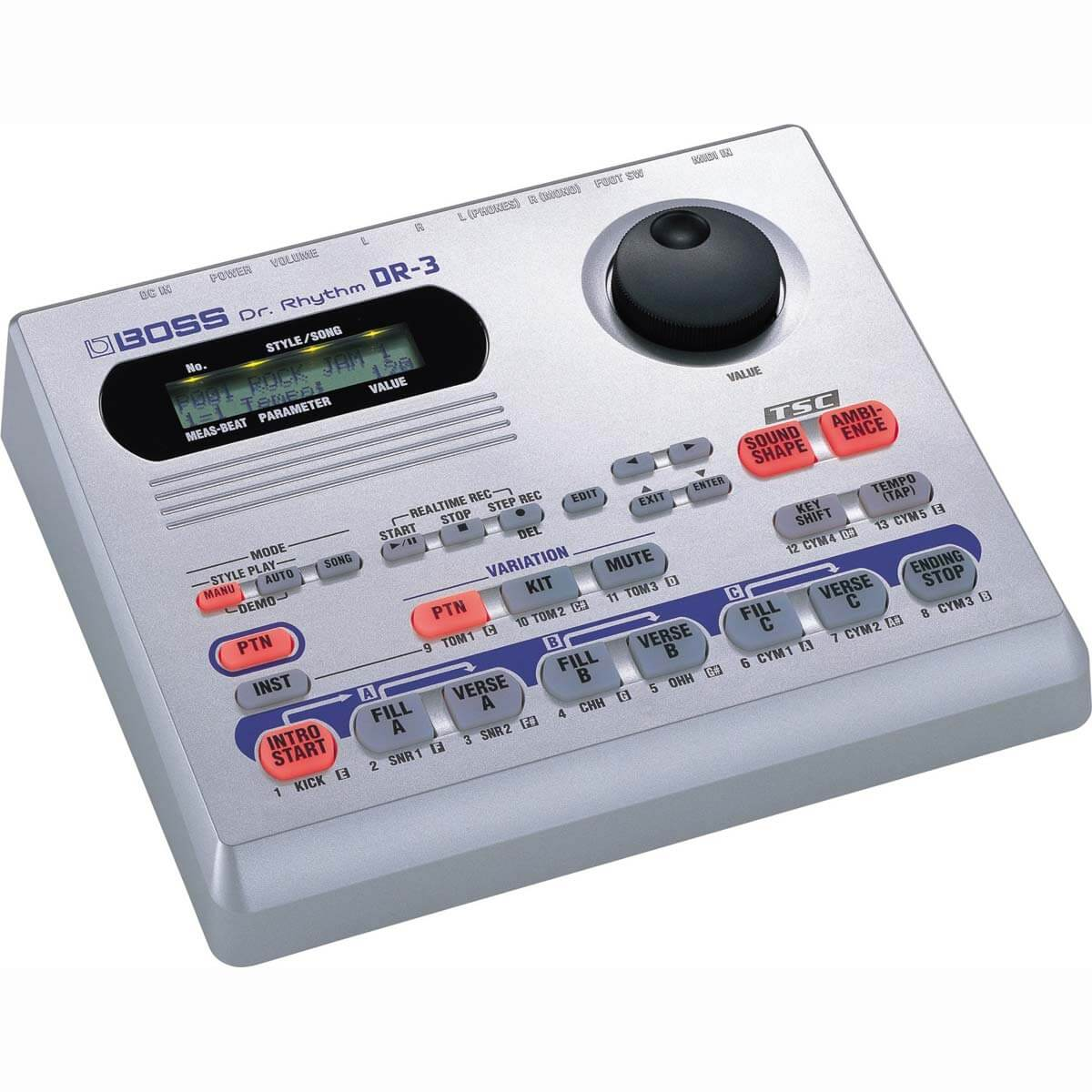 Boss DR-3 Dr. Rhythm trommemaskine