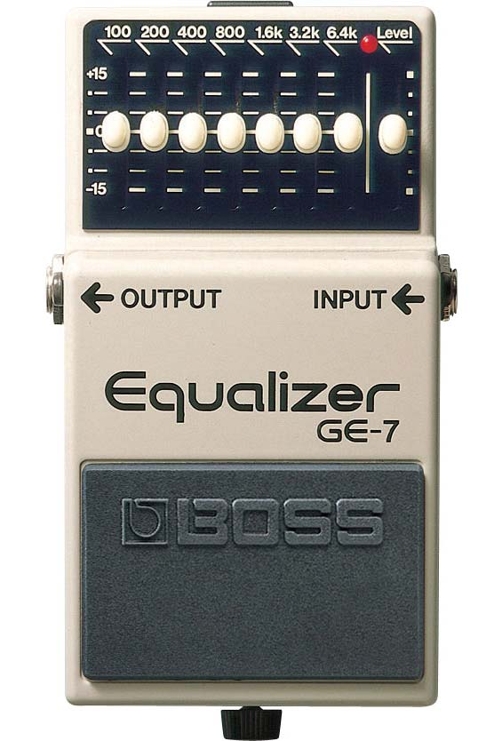 Boss GE-7 Equalizer guitarpedal