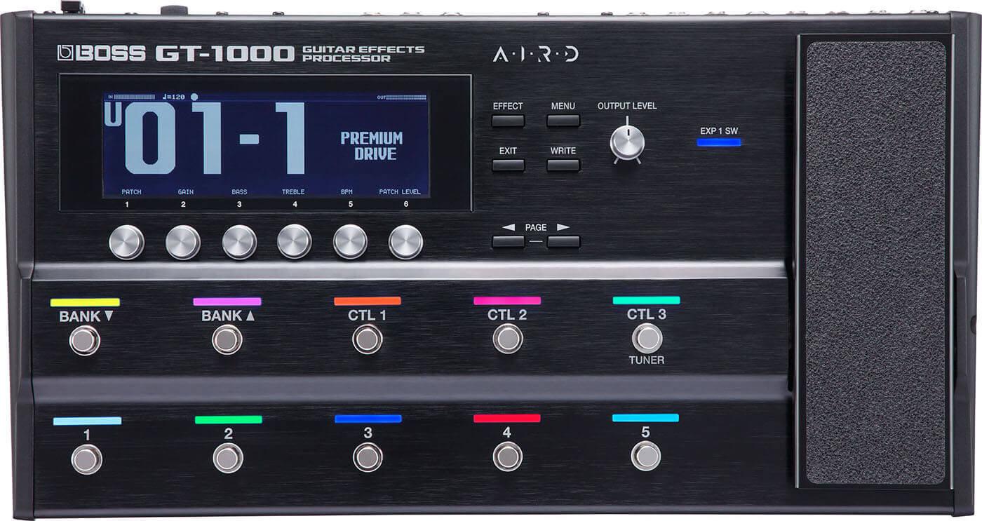 Boss GT-1000 guitar-multieffekt-pedalboard