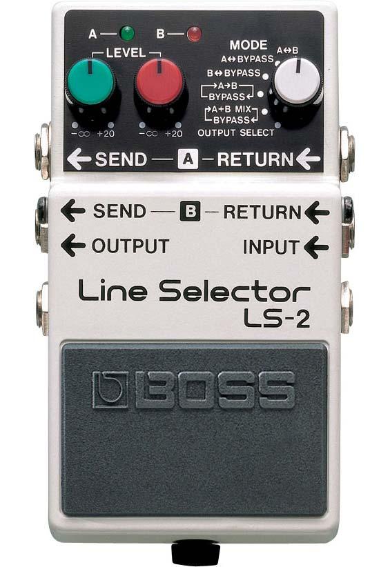Boss LS-2 Line Selector guitarpedal