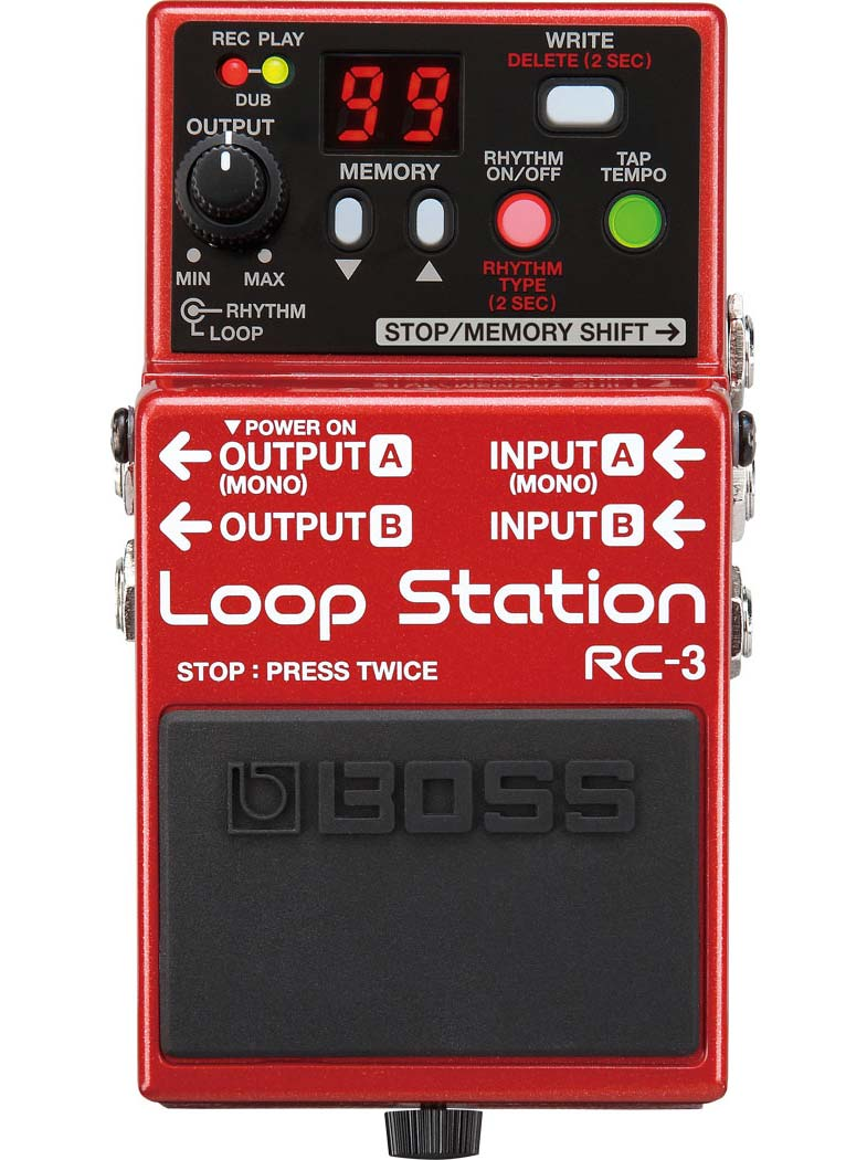 Boss RC-3 Loop Station guitarpedal