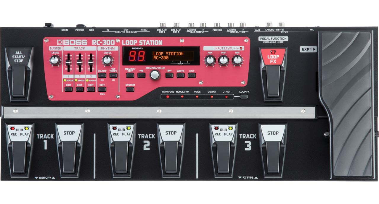 Boss RC-300 Loop Station guitarpedal