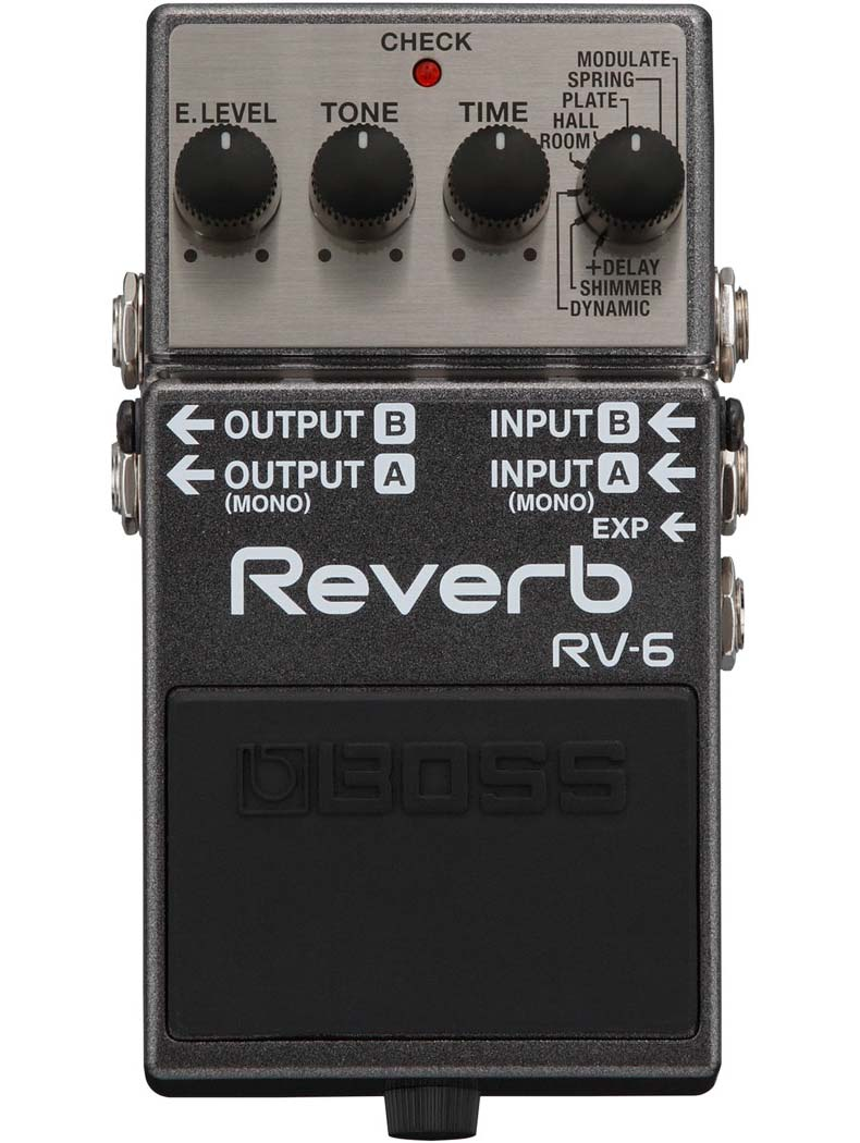 Boss RV-6 Reverb guitarpedal