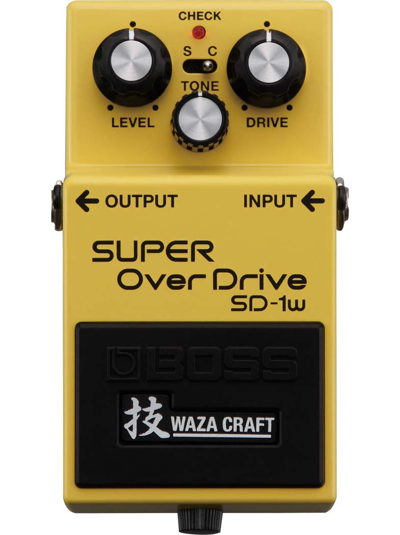 Boss SD-1W Super Overdrive guitarpedal
