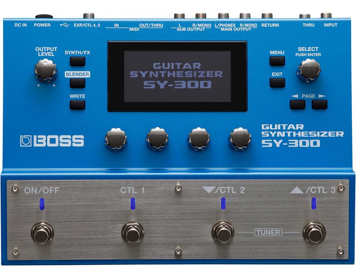 Billede af Boss SY-300 guitarsynthesizer