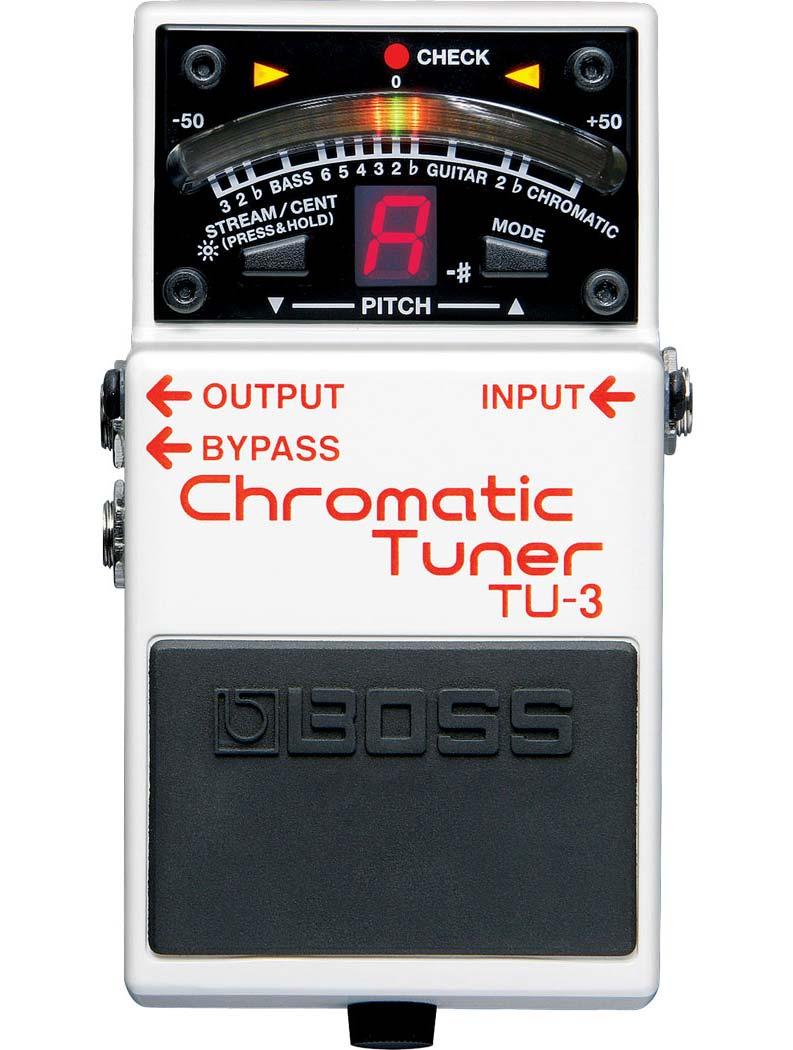 Billede af Boss TU-3 Chromatic Tuner guitarpedal