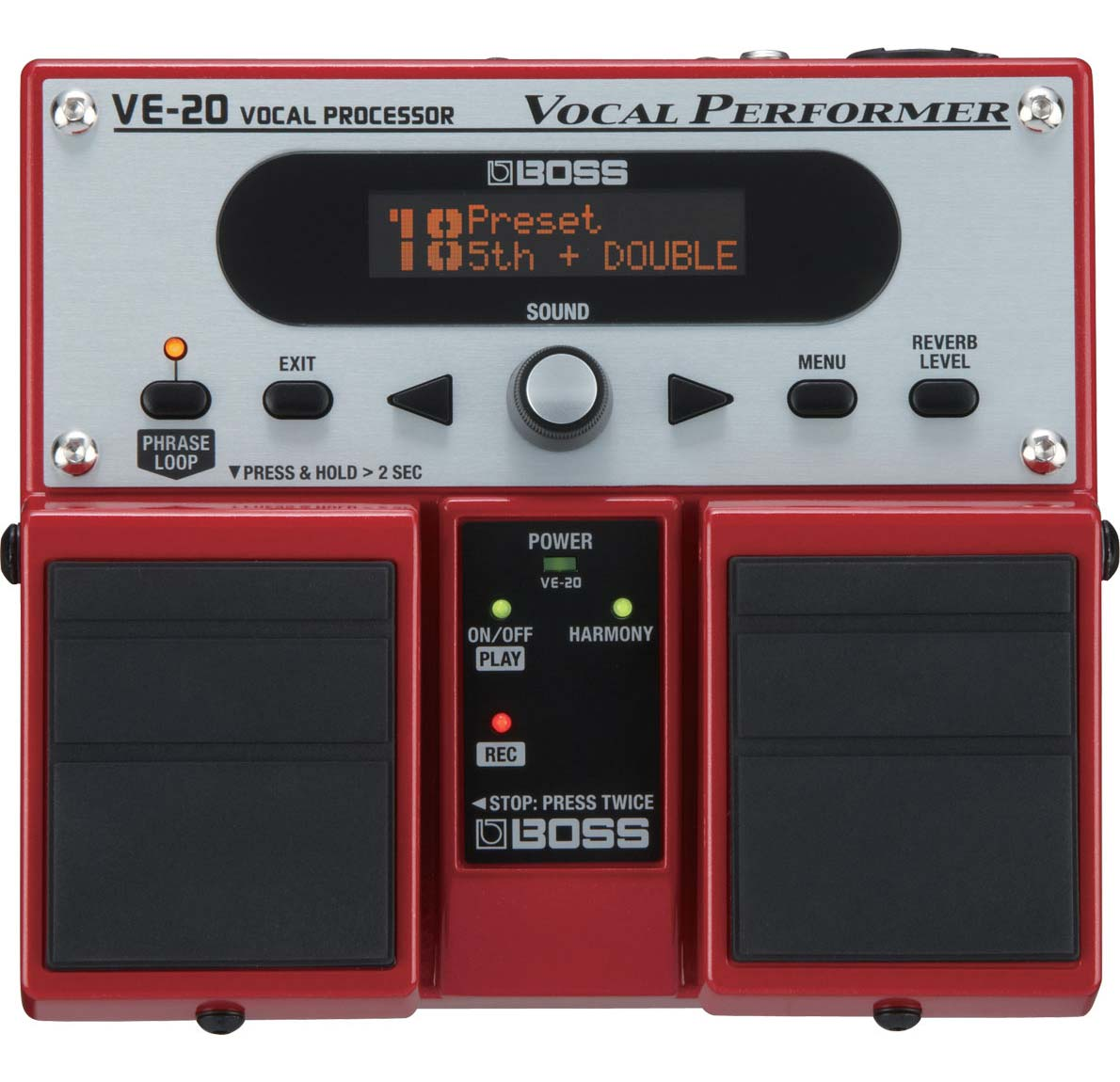 Boss VE-20 vokal-processor-pedal