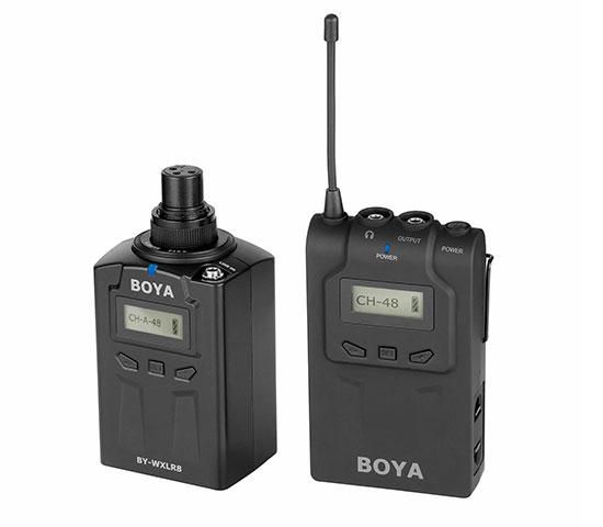 Boya BY-WM6-K1 trådløstsætmedXLR-sender