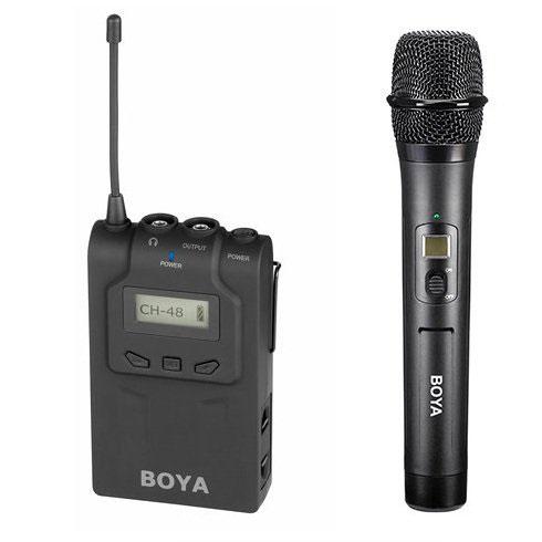 Boya BY-WM6-K2 trådløstsætmedhåndholdtmikrofon