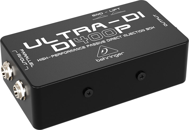 Behringer DI400PUltra-DI direct-box sort