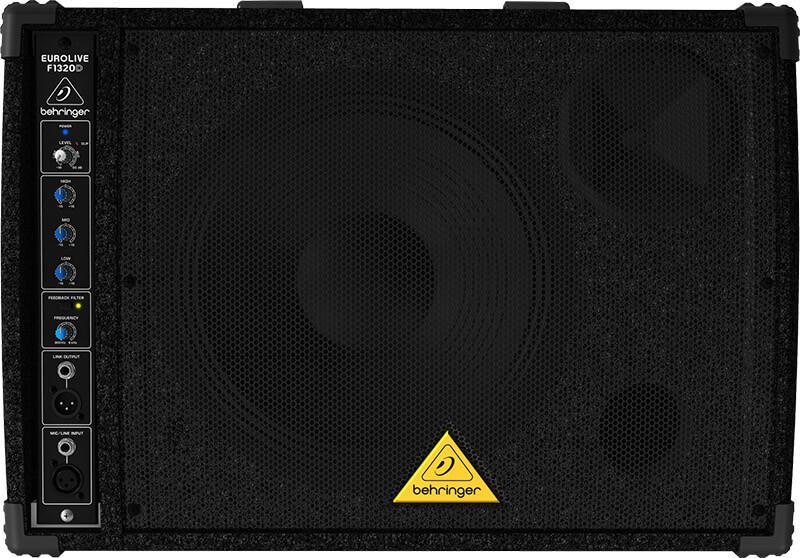 Behringer F1320DEurolive medhørs-monitor sort