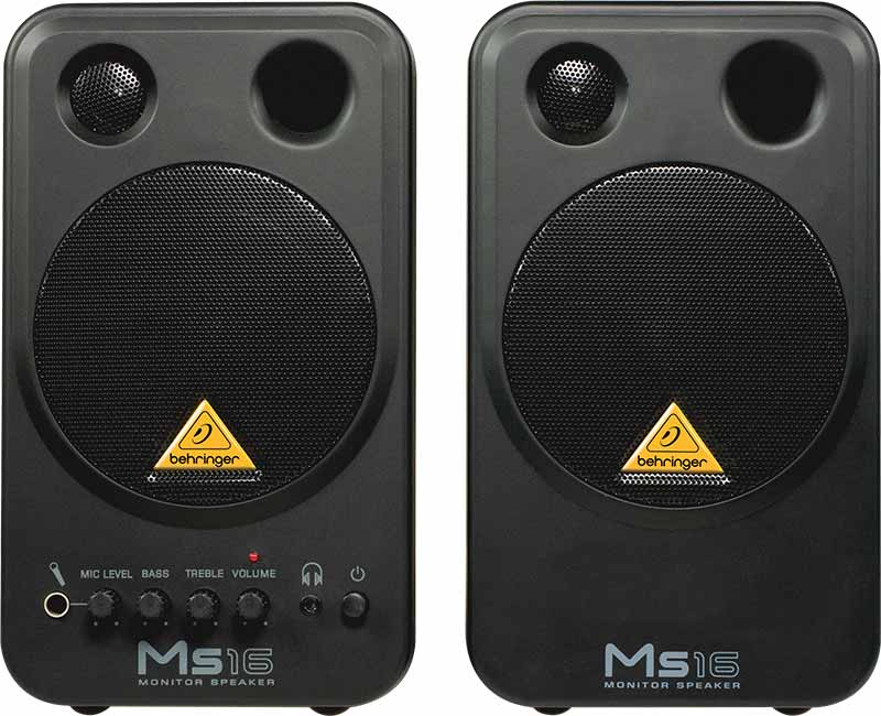 Image of   Behringer MS16 studie-monitors(par)