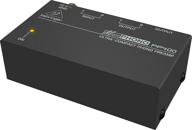 Behringer PP400 pladespiller-forforstærker