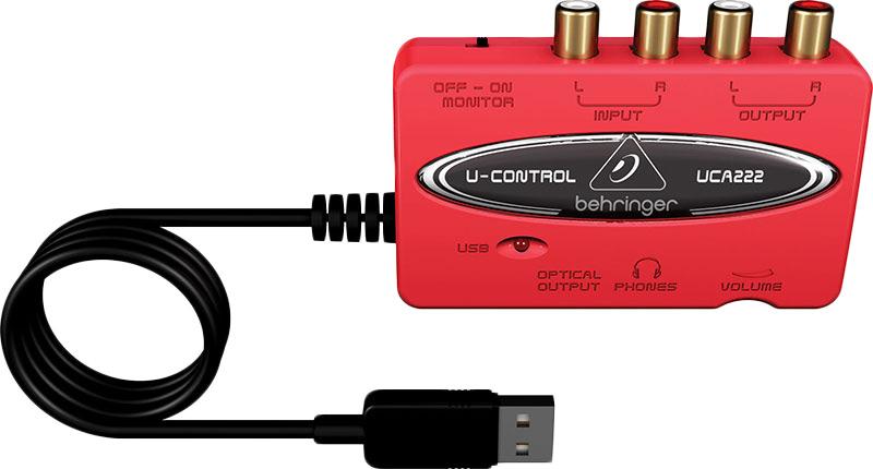 Behringer UCA222U-Control audiointerface