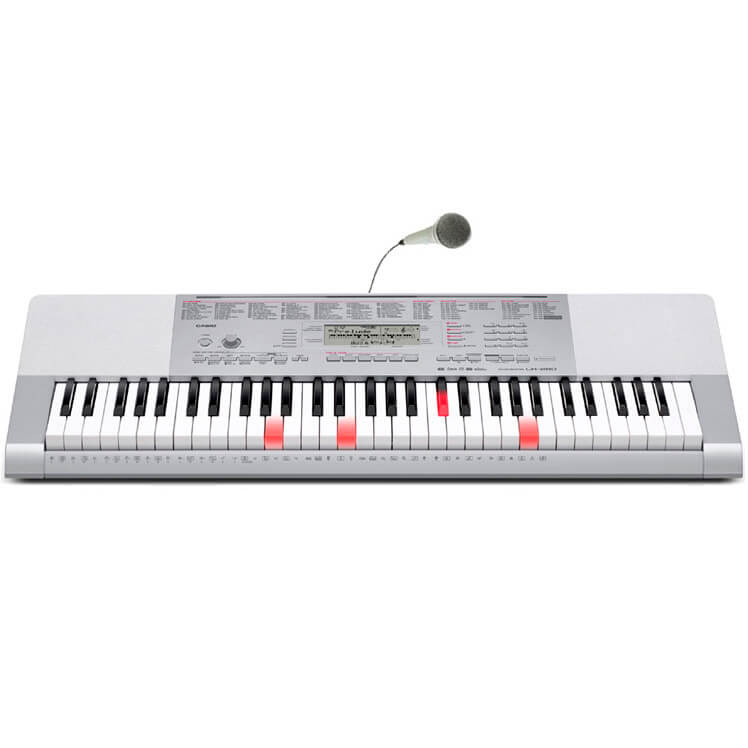 Casio LK-280 keyboard grå