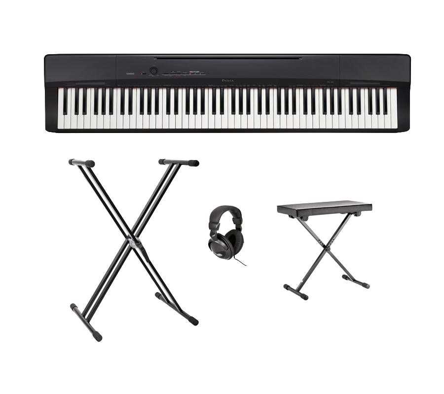 Casio PX-160-BK el-klaver sort, Pakke