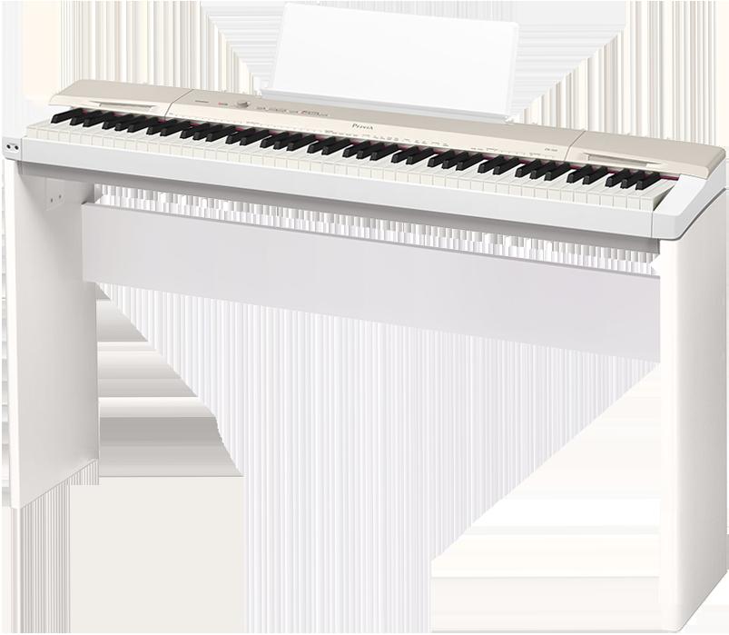 Billede af Casio PX-160-GD el-klaver med CS-67-WE ben