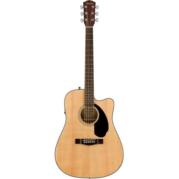 Image of   Fender CD-60SCE NAT western-guitar natur
