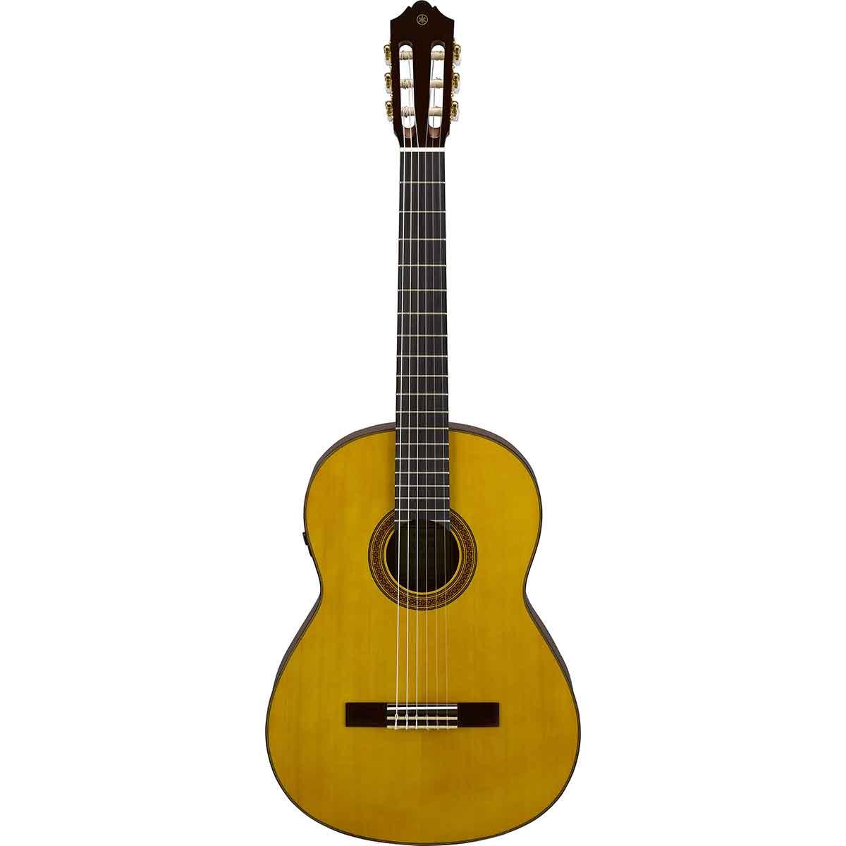 Yamaha CG-TA NT TransAcoustic spansk-guitar natur