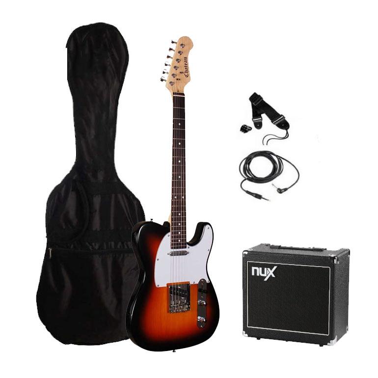 Chateau TL10 SB el-guitar, pakke 3