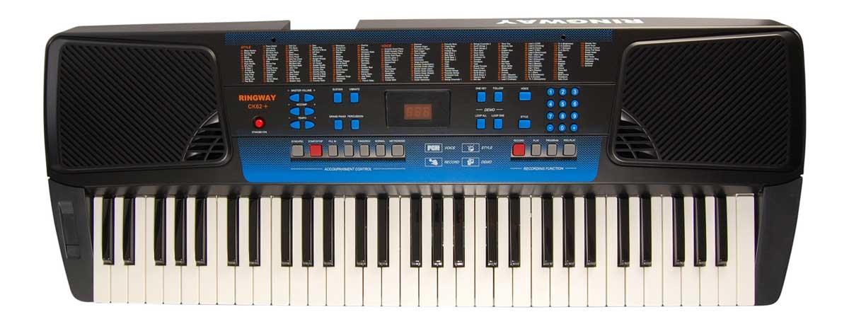 Ringway CK62+ keyboard sort