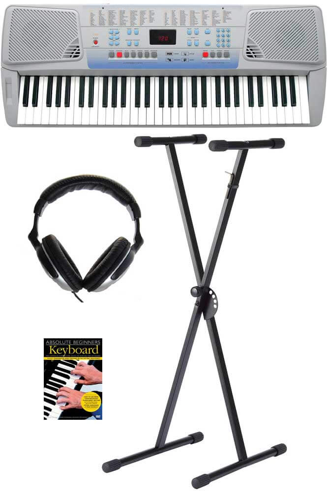 Ringway CK62 begynder-keyboard, grå PAKKELØSNING