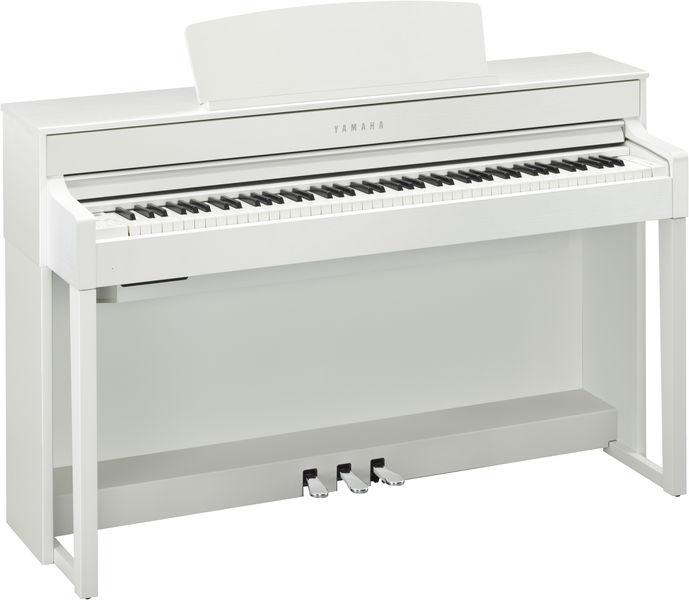 Image of   Yamaha CLP-635 WH el-klaver hvid