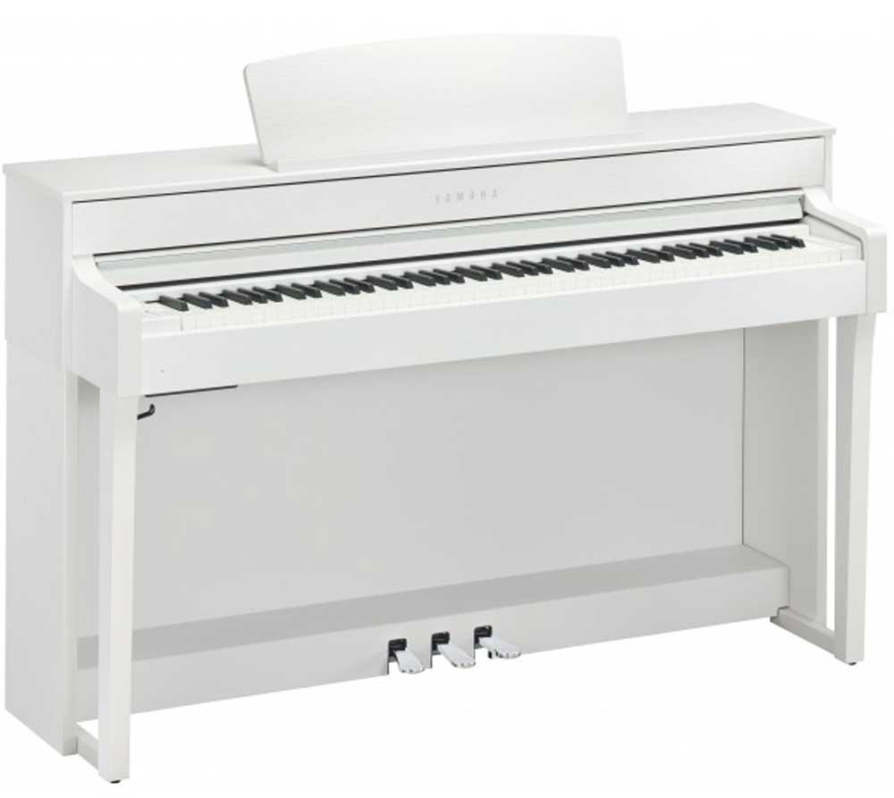 Image of   Yamaha CLP-645 WH el-klaver hvid