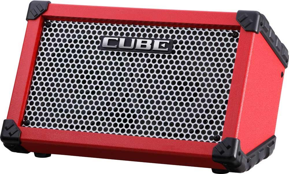 Roland Cube Street RA guitarforstærker rød
