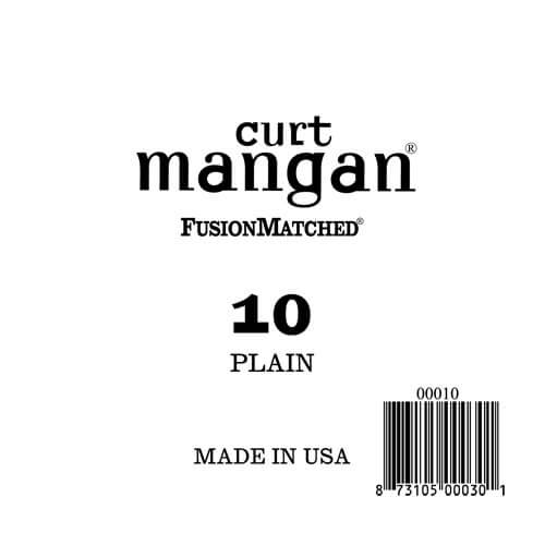 Image of   Curt Mangan 00010 løsplain-steelguitarstreng.010