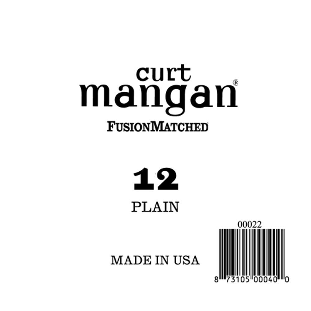 Image of   Curt Mangan 00012 løs plain-steel guitarstreng .012