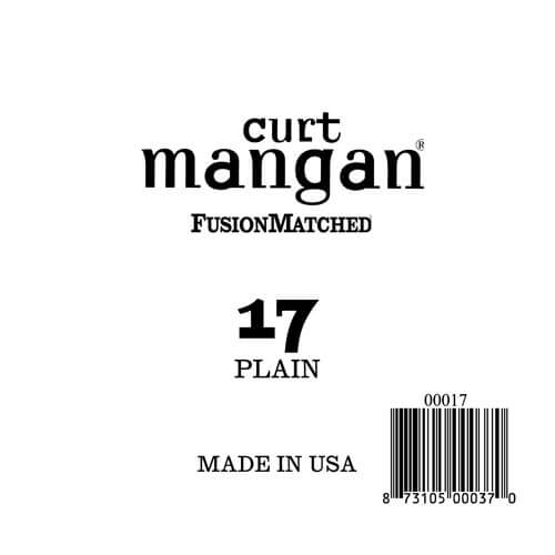 Image of   Curt Mangan 00017 løsplain-steelguitarstreng.017