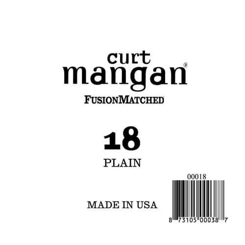 Image of   Curt Mangan 00018 løsplain-steelguitarstreng.018