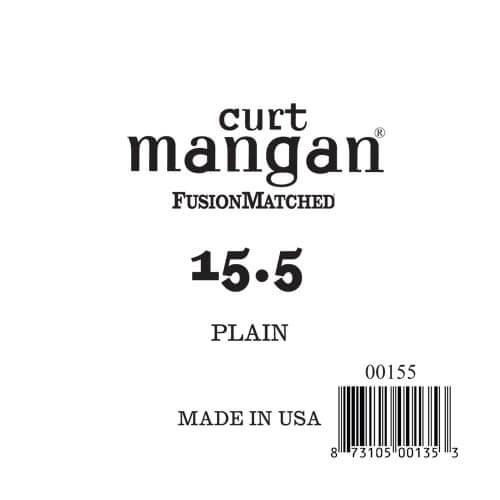 Image of   Curt Mangan 00155 løsplain-steelguitarstreng.0155