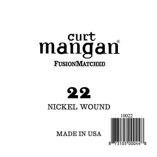 Image of   Curt Mangan 10022 løsnikkelel-guitarstreng.022