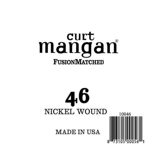 Image of   Curt Mangan 10046 løsnikkelel-guitarstreng.046