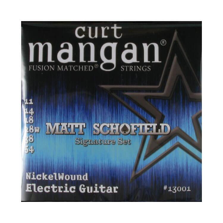 Image of   Curt Mangan 13001MattSchofieldSignature el-guitarstrenge011-054