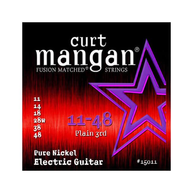 Image of   CurtMangan 15011PureNickel el-guitarstrenge011-048