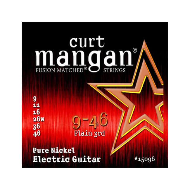 Image of   Curt Mangan 15096PureNickel el-guitarstrenge009-046