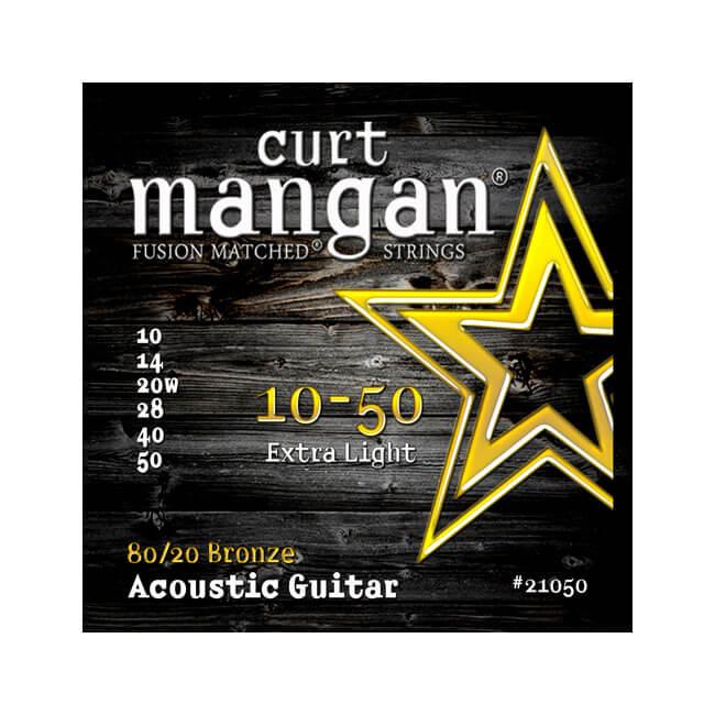 Image of   Curt Mangan 2105080/20Bronze western-guitarstrenge010-050