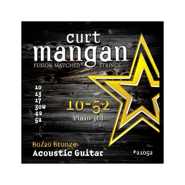 Image of   Curt Mangan 2105280/20Bronze western-guitarstrenge010-052
