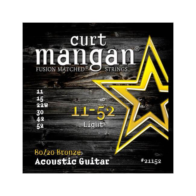 Image of   Curt Mangan 2115280/20Bronze western-guitarstrenge011-052