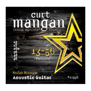 Image of   Curt Mangan 2135680/20Bronze western-guitarstrenge013-056