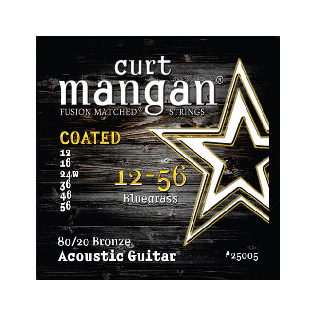Image of   CurtMangan 25005Coated80/20Bronze western-guitarstrenge012-056