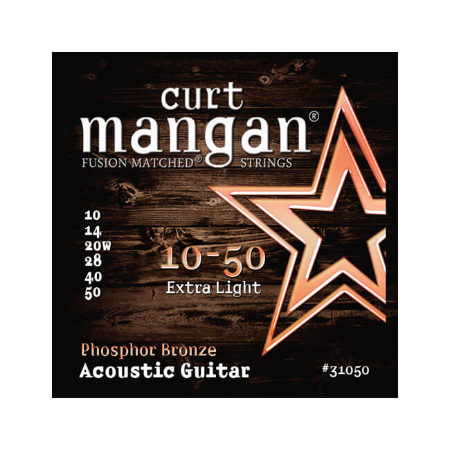 Image of   CurtMangan 31050PhosphorBronze western-guitarstrenge010-050