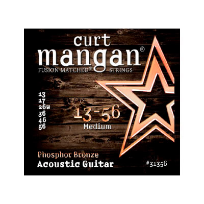 Image of   CurtMangan 31356PhosphorBronze western-guitarstrenge013-056