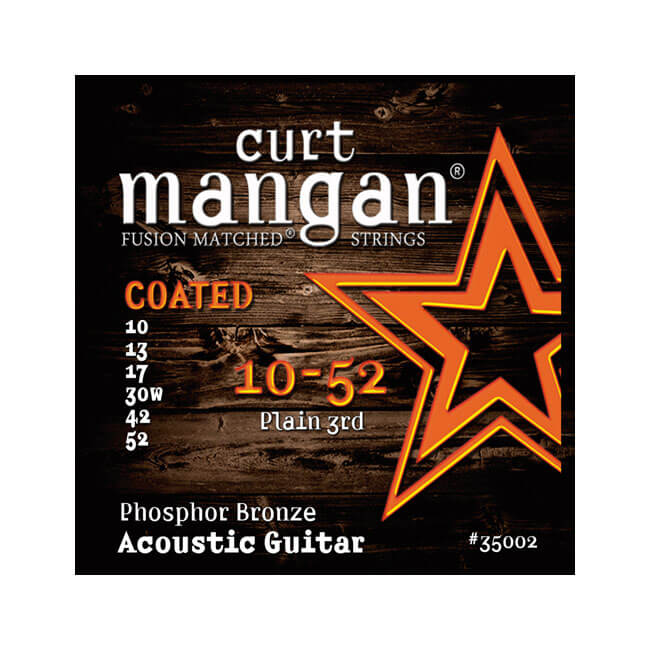 Image of   CurtMangan 35002CoatedPhosphorBronze western-guitarstrenge010-052