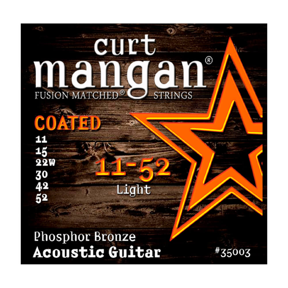 Image of   CurtMangan 35003CoatedPhosphorBronze western-guitarstrenge011-052