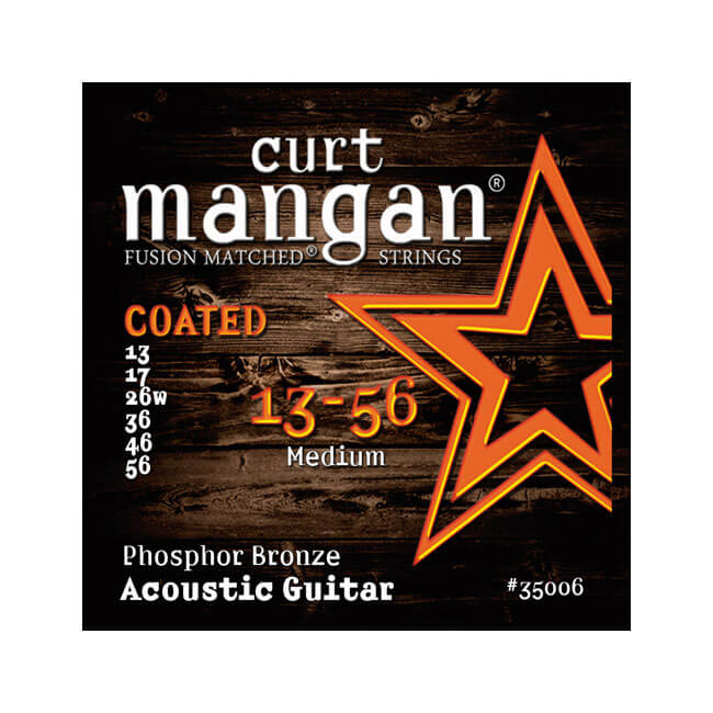 Image of   CurtMangan 35006CoatedPhosphorBronze western-guitarstrenge013-056